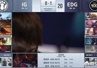 EDG被IG讓一追二之後,教練heart微博被網友嘲諷爆破,他的BP如何?
