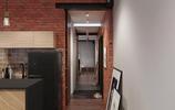 40平米裝修,公寓裝修,咖啡色