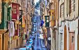 攝影:瓦萊塔的老街