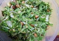 美味苦苣花生米