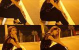 中央民族大學舞蹈學院劉思佳夜拍,別有一番風味