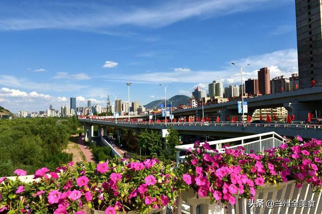 蘭州黃河風情園,金城一道亮麗的風景