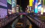 大阪道頓崛的繁華夜景——不輸東京