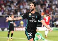 歐洲超級盃-伊斯科進球盧卡庫破門 皇馬2-1勝曼聯衛冕