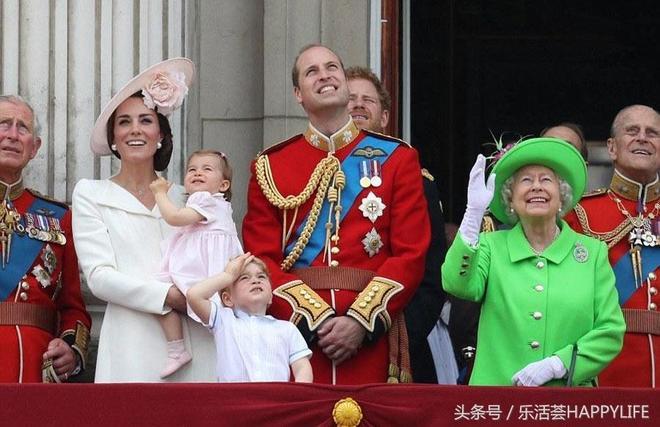 英國女王91歲生日慶典,凱特王妃粉色套裝靚麗動人