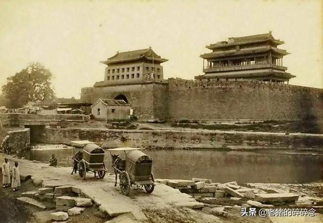 真正的老北京城樓拆了,只能從這些老照片中看看了