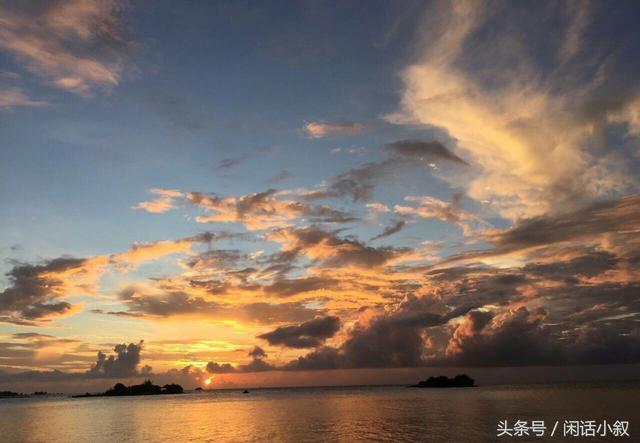 馬爾代夫的黃昏