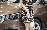 車展現場 車展上的亮點模特