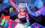 英雄聯盟cosplay:娑娜-只有你才可以聽懂我的話