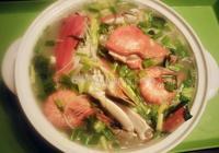 螃蟹煮粉幹