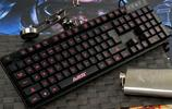 想要遊戲打得好,酷炫外設少不了,七彩背光機械鍵盤成就你的超神夢