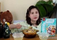 密子君被說長胖後吃燕麥片減肥,看到她的碗後,網友:就當我沒說