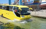 國外打造水路兩棲大巴車,成功吸引了眾多遊客的到來