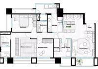 125㎡硬裝出4室2廳,達不到這個效果就別說你家裝修了!