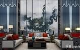 《 山水之間-新中式背景牆 》