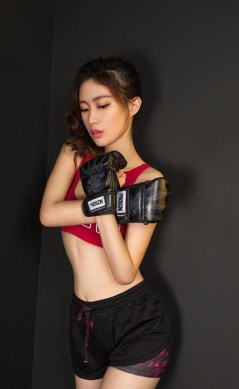 性感拳擊美女