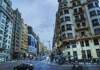 馬德里市區的街道