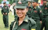 緬甸女兵!