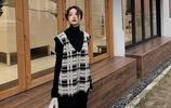 聽說下雪天:法式冬裙+裸靴最配!款款洋氣顯靚美,堪比國色天香