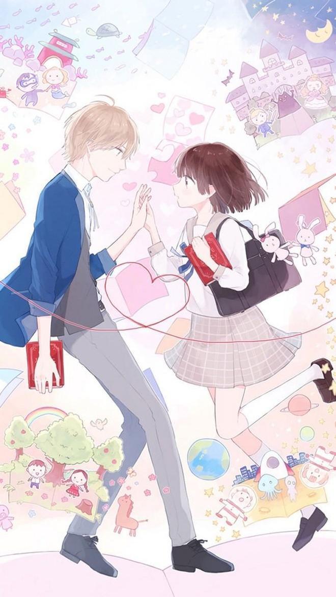 漫畫 動漫情侶 二次元的愛戀 cos繪畫