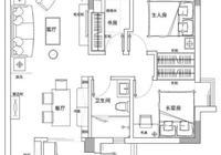 89平的北歐風小戶型三居室,擠出一個書房儲物間