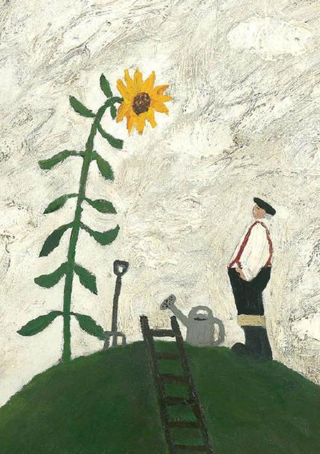 當我老了,隨風塵起落,不驚擾繁華,畫作欣賞