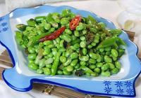 好吃的雪菜和清香的毛豆在一起,好事成雙——雪菜炒毛豆