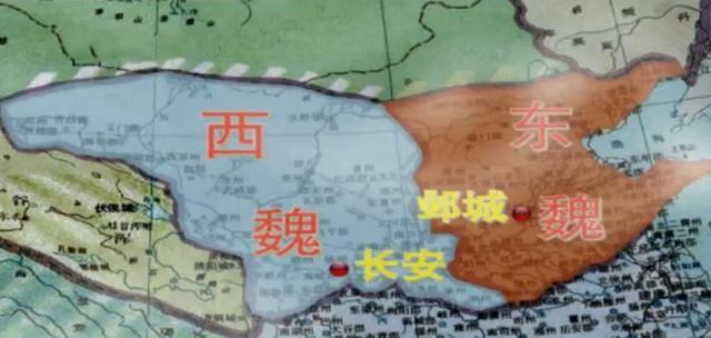 523年六鎮起義爆發,528年隋文帝的父親楊忠投靠獨孤信