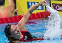 2017游泳世錦賽女子200米混合泳決賽,霍斯祖奪冠歡呼勝利