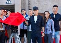 """上海國際電影節丨《特警隊》亮相紅毯""""硬漢""""凌瀟肅賈乃亮出動了"""