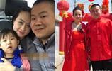 岳雲鵬一家人照片曝光,兩個女兒全隨了爹,網友:可惜了漂亮媳婦