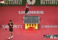 世乒賽男單,樊振東被一板扣殺後,對手繞場振臂歡呼,當時是怎麼回事?