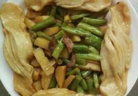 扁豆土豆燜花捲