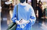 易烊千璽現身日本機場啟程回國,少年的時尚感十足!