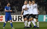 足球——世預賽:德國隊勝阿塞拜疆隊