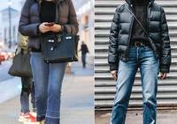 羽絨服穿著顯胖?3套搭配照著穿,顯瘦還洋氣,矮個子女人也能穿
