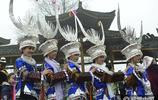 貴州黔東南苗寨舉辦蘆笙盛會慶招龍