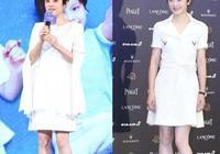 孫儷終於換造型,穿西裝裙秀美腿美出新高度,頭髮留長一點太減齡