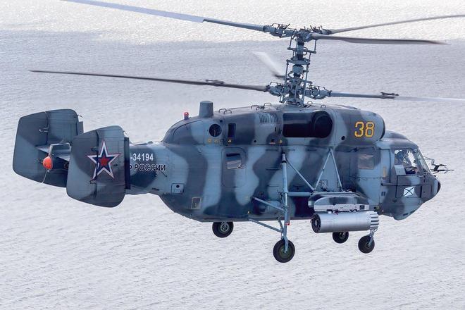 見過如此奇特的直升機嗎,沒有尾槳的卡-27