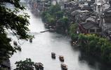 鳳凰古城的母親河——湘西風光,沱江掠影
