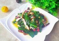 韭菜炒豆乾