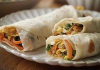 孩子營養早餐食譜 薄餅卷菜的家常做法 滿嘴芬芳 無法抗拒的美味