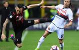 足球——意甲:AC米蘭勝熱那亞