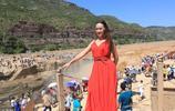 旅遊景點:黃河壺口瀑布,黃河的水啊,還是那麼黃