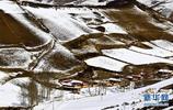 雪後祁連山