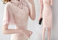 """奔四奔五女人,別穿太素!瞧瞧新出的改良""""旗袍裙"""",洋氣又減齡"""