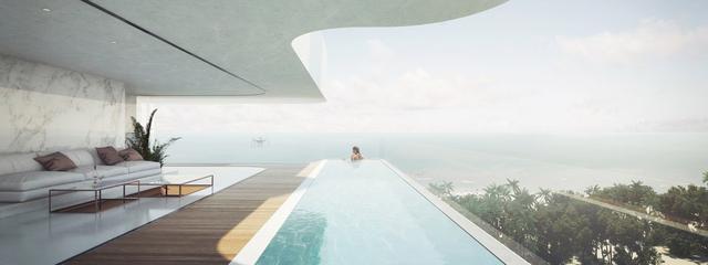 柔和精美,輕盈自然的360度全景公寓