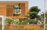 住宅設計:又見最美紅磚房,5個大臥室,農村自建庭院別墅可參考