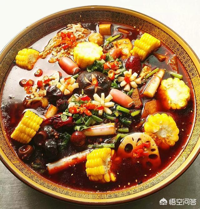 火鍋麻辣燙串串香跟冒菜這幾個有什麼差別嗎,哪個大廚可以介紹一下呢?