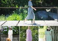 30+女人拒絕平庸和廉價!31套原創亞麻穿搭,幫你氣質如蘭美成畫